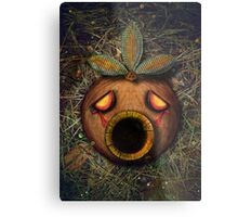 The Deku Mask Metal Print