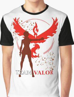 Pokemon GO - Team Valor Captain Graphic T-Shirt