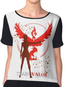 Pokemon GO - Team Valor Captain Chiffon Top