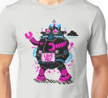 Robots Need Love, Too! Unisex T-Shirt
