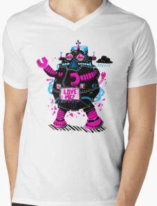 Robots Need Love, Too! Mens V-Neck T-Shirt