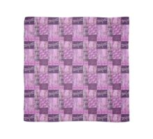 Purple Patina Mosaic Scarf