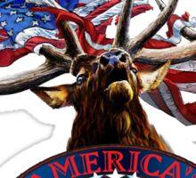 America's Legend Elk Sticker
