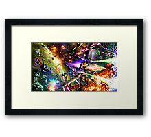 The Starfox Universe: In Flux Framed Print