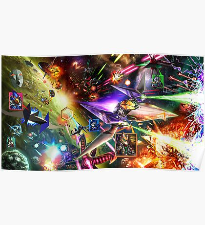 The Starfox Universe: In Flux Poster