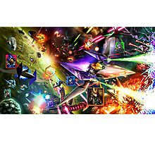 The Starfox Universe: In Flux Photographic Print