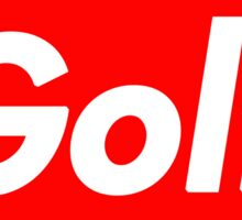 Golf Box Logo Sticker