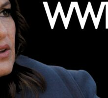 WWBD? – What Would Benson Do? Sticker