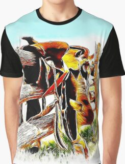Riding The Fence Graphic T-Shirt