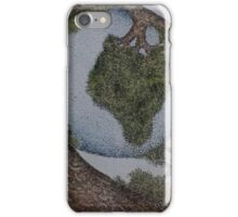 World cradled by Tree iPhone Case/Skin