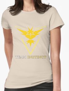 Pokemon GO - Team Instinct Womens Fitted T-Shirt
