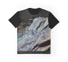 Wave Receding off of Rocks in Hessel Bay Graphic T-Shirt