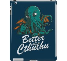 Better Call Cthulhu iPad Case/Skin