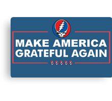 Make America Grateful Again Canvas Print