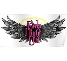 Girls Night Out - Pink Poster