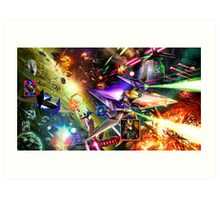 The Starfox Universe: At War Art Print