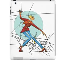 Abstract woman in the style of cubism iPad Case/Skin
