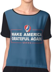 Make America Grateful Again Chiffon Top