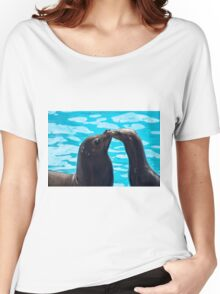 Sea Lion Love Women's Relaxed Fit T-Shirt