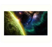 The Starfox Universe: At Peace Art Print
