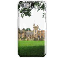 The gothic style of Knebworth house, Hertfordshire iPhone Case/Skin