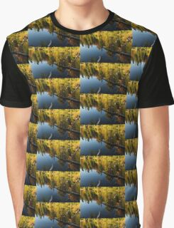 Mesmerizing Fall Reflections Graphic T-Shirt