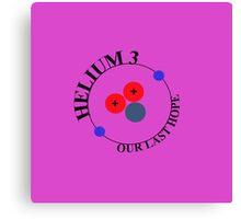 Mars 2030 - Helium 3 - Our Last Hope Canvas Print