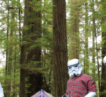 Stormtroopers on Endor - Stormtrooper Shirt / Tote / Pillow Sticker
