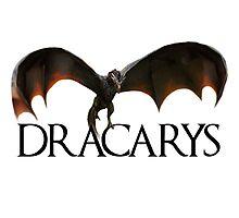 Dracarys - Daenerys Targaryen's Dragon Photographic Print