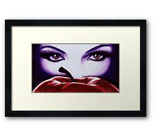 Once Upon A Time Ballpoint Art Framed Print