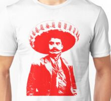 Emiliano Zapata - unichrome red Unisex T-Shirt
