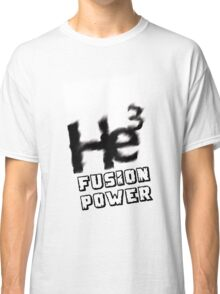 Mars 2030- Helium 3 Fusion Power Classic T-Shirt