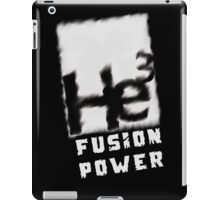 Mars 2030- Helium 3 Fusion Power iPad Case/Skin