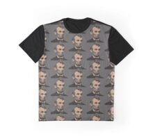 Lincoln, minimalistic portrait Graphic T-Shirt