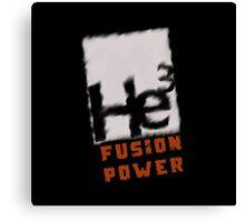 Mars 2030- Helium 3 Fusion Power Canvas Print