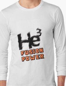 Mars 2030- Helium 3 Fusion Power Long Sleeve T-Shirt