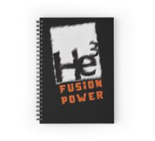 Mars 2030- Helium 3 Fusion Power Spiral Notebook