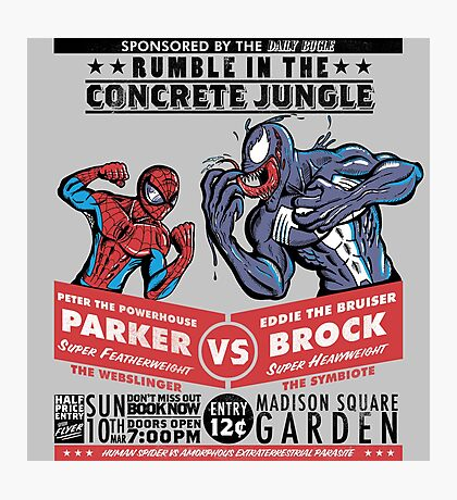 Rumble In The Concrete Jungle Photographic Print