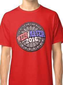 Campaign Button Vector Classic T-Shirt
