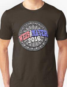 Campaign Button Vector Unisex T-Shirt