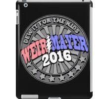 Campaign Button Vector iPad Case/Skin
