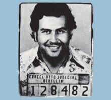 Escobar Mugshot Kids Tee