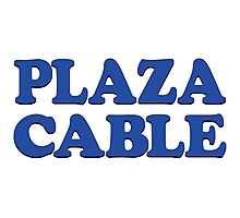 PLAZA CABLE Photographic Print