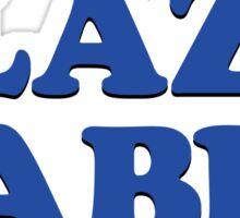 PLAZA CABLE Sticker
