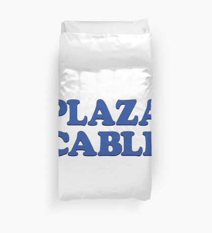 PLAZA CABLE Duvet Cover