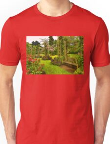 Impressions of London - Queen Mary's Rose Garden Unisex T-Shirt