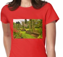 Impressions of London - Queen Mary's Rose Garden Womens Fitted T-Shirt