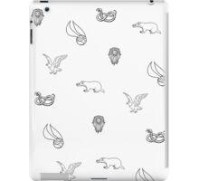 Quidditch through the houses iPad Case/Skin