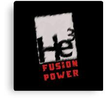 Mars 2030 - Helium 3 Fusion Power Canvas Print