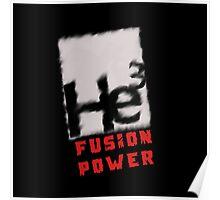 Mars 2030 - Helium 3 Fusion Power Poster